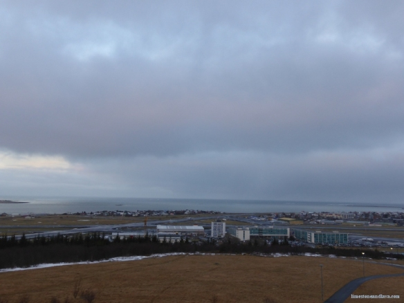 Reykjavik Domestic Airport (view to the west)