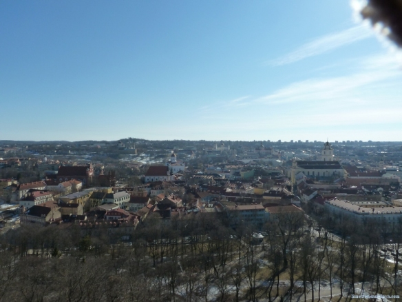 Old Vilnius (and a little bit of my mittens. Sorry)