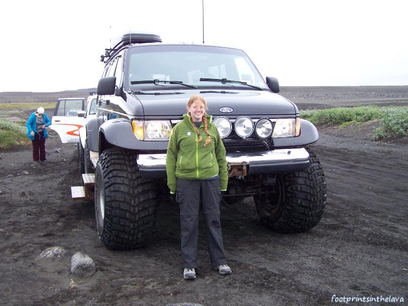 It was a really big car!
